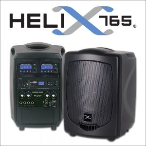 Helix 765 with two wireless receivers