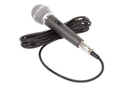 Plug-in handheld microphone & lead